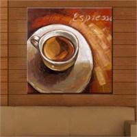 Canvastablom Kr10 Kahve Kanvas Tablo
