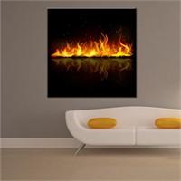 Canvastablom Kr13 Ateş Kanvas Tablo
