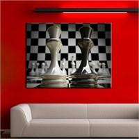Canvastablom T207 Satranç Taşları Kanvas Tablo