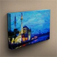 Canvastablom T237 Ortaköy Camii Yağlı Boya Kanvas Tablo