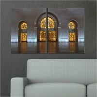 Canvastablom İ140 Kapılar Parçalı Tablo