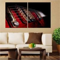 Canvastablom İ302 Gitar Telleri Parçalı Tablo