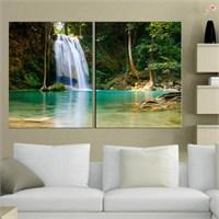 Canvastablom İ336 Şelale Manzarası Kanvas Tablo