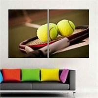 Canvastablom İ572 Tenis Topları Parçalı Tablo
