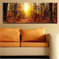 Canvastablom Pnr108 Orman Manzarası Kanvas Tablo