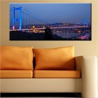 Canvastablom Pnr109 İstanbul-Köprü Canvas Tablo