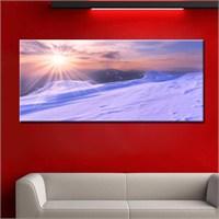 Canvastablom Pnr111 Kar Manzarası Kanvas Tablo