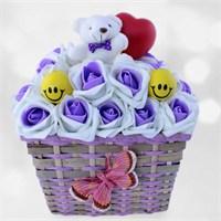 Doğum Günü Hediyesi Tatlı Gülüşler Sevgi Sepeti