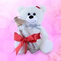 Sevgiliye Romantik Hediye Sevimli Peluş Mesajınız Varrr