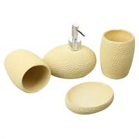 Evino Banyo Sabunluk Seti Polyester Açık Yeşil