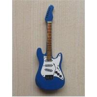 Minyatür Gitar Magnetler Ahşap Mın10-10