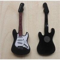 Minyatür Gitar Magnetler Ahşap Mın10-15