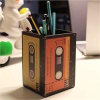 Thanx Co Cassette Ahşap Kalemlik