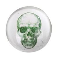 Thanx Co Skull Yeşil Kağıt Ağırlığı