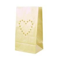 Thanx Co Kalp Motifli 10'Lu Kağıt Fener