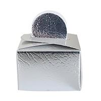 KullanAtMarket Gümüş Mini Şeker Kutusu 10 Adet