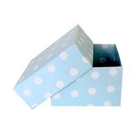 KullanAtMarket Mavi Puantiyeli Küçük Kutu 10 Adet