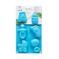 KullanAtMarket Mavi Bebek Silikon Kek Kalıbı 1 Adet