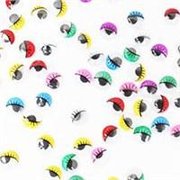 Kullanatmarket Oynar Göz Kirpikli Renkli Büyük 50 Adet