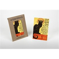 Retro Chat Noır Black Cat Magnet 6*9 Cm