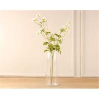 Madame Coco Dekoratif Yapay Çiçek Beyaz Papatya