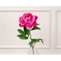 Madame Coco Dekoratif Yapay Çiçek Pembe Şakayık 74 Cm