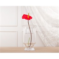 Madame Coco Dekoratif Yapay Çiçek Kırmızı Flamingo Çiçeği 46 Cm