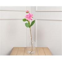 Madame Coco Dekoratif Yapay Çiçek Pembe Yıldız Çiçeği 52 Cm