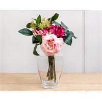 Madame Coco Dekoratif Yapay Çiçek Gül Lale Buketi
