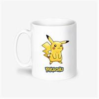 Kişiye Özel Pokemon Pikachu Tasarımlı Kupa Bardak