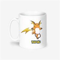 Kişiye Özel Pokemon Raichu Tasarımlı Kupa Bardak