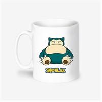 Kişiye Özel Pokemon Snorlax Tasarımlı Kupa Bardak