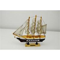 Cosıness Ahşap El Yapımı Gemi Maketi