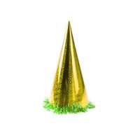 KullanAtMarket Altin Holografik Büyük Yılbaşı Şapkası 1 Adet