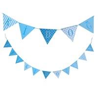 KullanAtMarket İyi Ki Doğdun Mavi Ahşap Harf Afiş 1 Adet