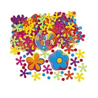 KullanAtMarket Renkli Happy Birthday Masa Konfeti 150 Adet