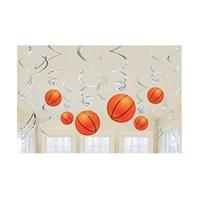 Kullanatmarket Fanatik Basketbol Süs Dalgası 12 Adet