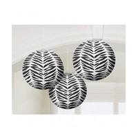 KullanAtMarket Siyah Zebra Partisi Fener Seti 3 Adet