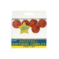 Kullanatmarket Fanatik Basketbol Dekoratif Mum 6 Adet