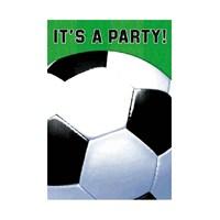 KullanAtMarket Futbol Partisi Davetiye 8 Adet