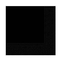 KullanAtMarket Siyah Kağıt Peçete 20 Adet
