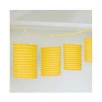KullanAtMarket Sıralı Fener Süs Sarı 1 Adet