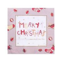 Kullanatmarket Merry Christmas Kumasa Alternatif Peçete 12 Adet