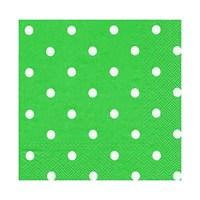 KullanAtMarket Yeşil Puantiyeli Kağıt Peçete 20 Adet