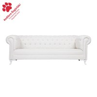3A Mobilya Whıte Snow Lükens Chesterfield