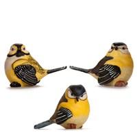 Alara Home Dekoratif 3 Lü Küçük Kuş Biblo 01