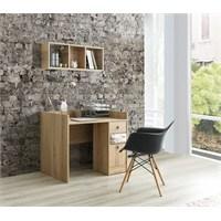 Home De Bella Fiore Çalışma Masası - Duvar Rafı Seti