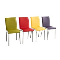 Bestline Colorful Sandalye (4 Adet)