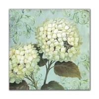 Dolce Home Beyaz Çiçekler Dekoratif Tablo Adgt12