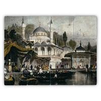 Oscar Stone Baskılı Taş Tablo - Ottoman Sıde Iı